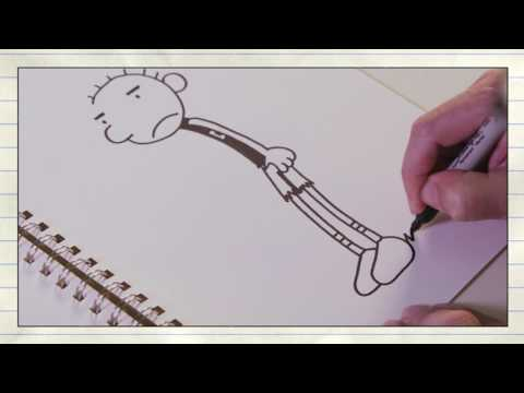Diary of a Wimpy Kid: The Long Haul | 'Learn To Draw : Rodrick' | Official HD Featurette 2017