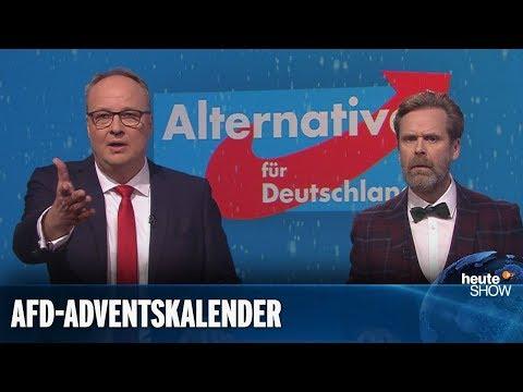 Die AfD feiert Weihnachten für weiße Männer | heute-show vom 14.12.2018