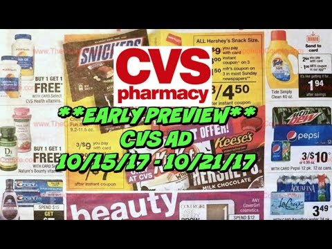 CVS AD PREVIEW FOR 10/15 - 10/21 | MM...