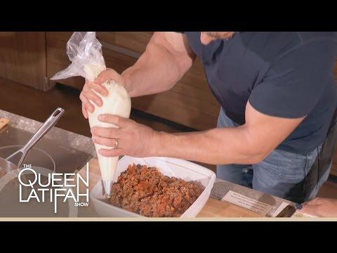 Chef Robert Irvine Cooks Shepherds Pie on The Queen Latifah Show