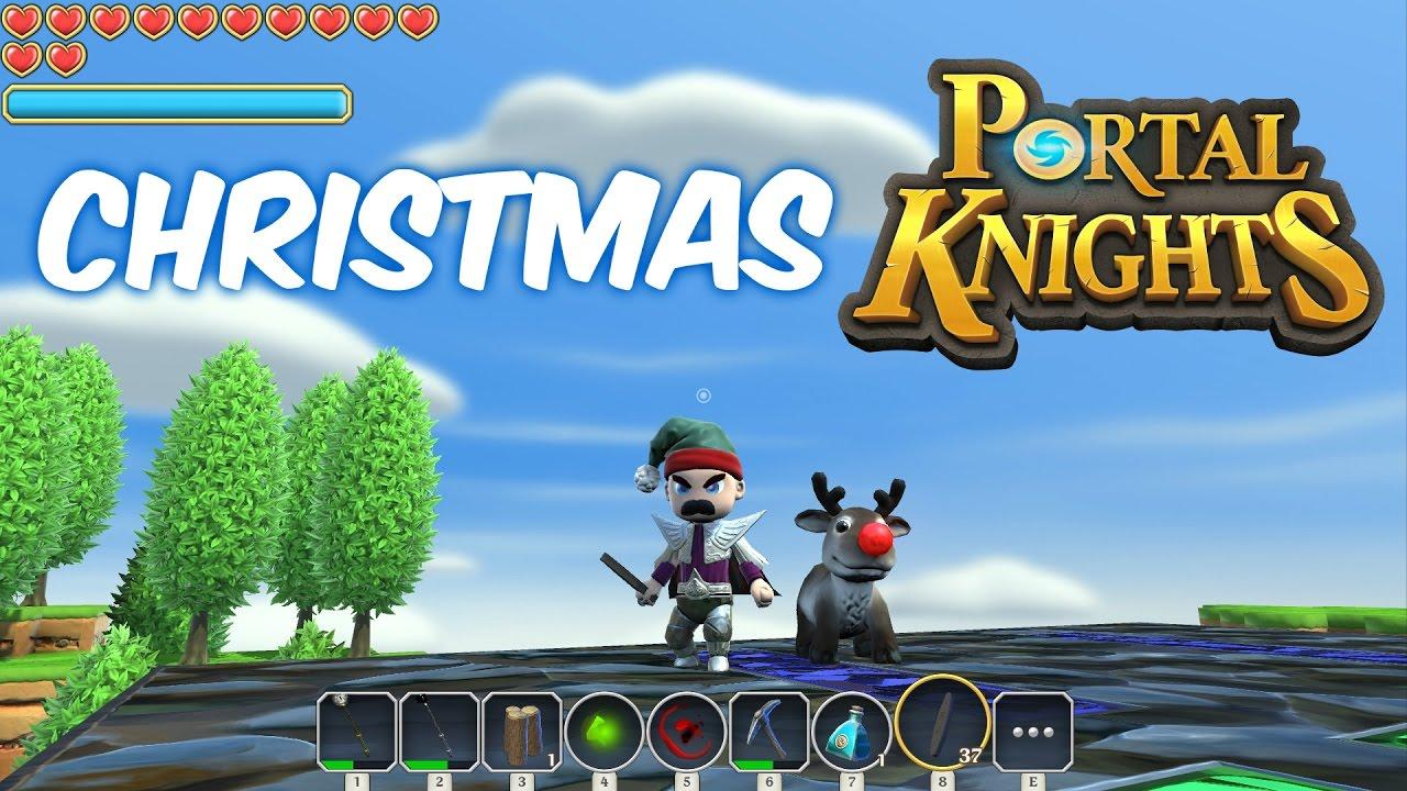 Portal Knights at Christmas - YouTube