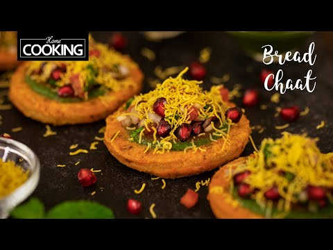 Bread Chaat | Street Food | Bread Snacks Recipe | Chaat Recipes | Bread Ki chaat