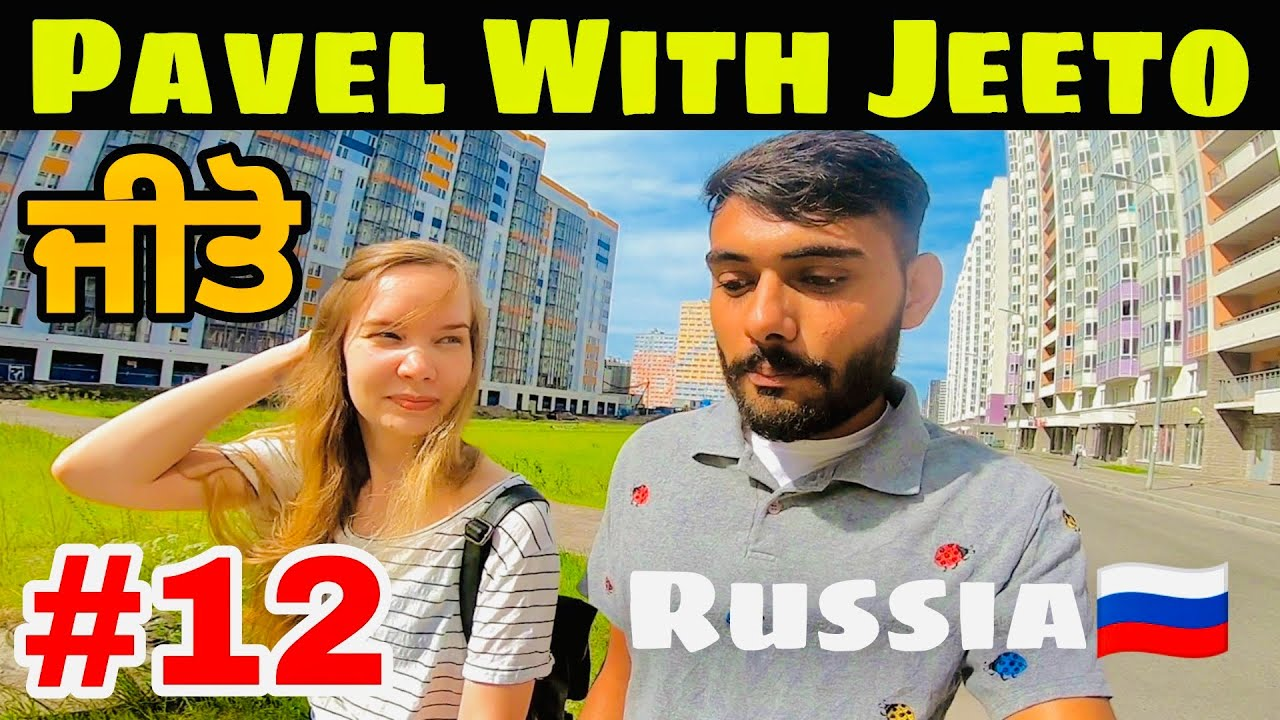 Pavel with Jeeto in Saint Petersburg Russia   Explore world