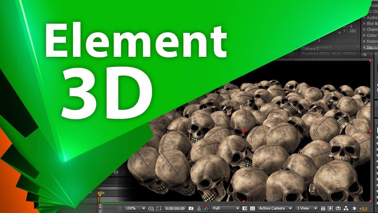 Базовый урок по возможностям Element 3D - AEplug 001 (пилотный выпуск)