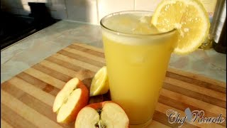 1 Healthy Breakfast Juice !! APPLE AND GINGER