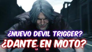 ¿NERO TENDRÁ DEVIL TRIGGER?¿DANTE EN MOTO?- Teorías Devil May Cry 5 Trailer