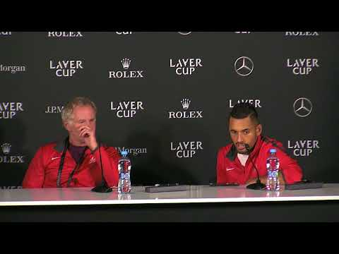 Nick Kyrgios Press Conference (Match 7) | Laver Cup 2017