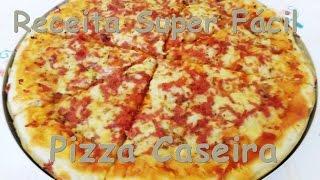 Receita Super Fácil – Pizza com Adilson G. Amaral