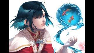【イラストメイキング】Fish bowl - Original art painting