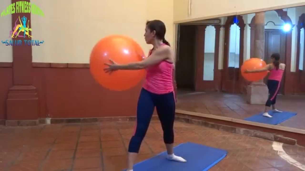 Videos de pilates con pelota