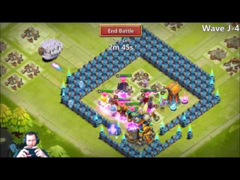 JT's Free 2 Play Taking On Here Be Monsters (HBM) J Castle Clash
