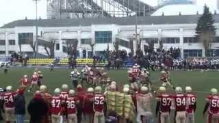 ELAF Zubrs vs Litwins regular season 2013