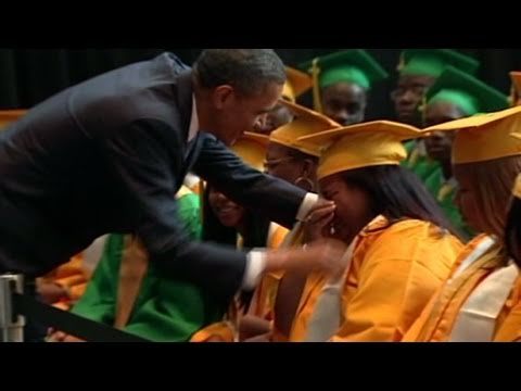 CNN: Obama greets Memphis high school grads
