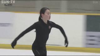 フィギュアスケートの四大陸選手権で初優勝した女子シングル・紀平梨花...
