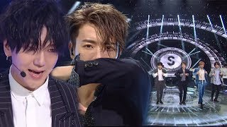 EXCITING SUPER JUNIOR 슈퍼주니어 Black Suit 인기가요 Inkigayo 20171119