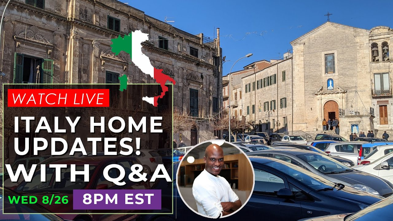 Download Cheap 1 Dollar Houses In Italy   Live Updates with Q&A - Episode 6