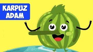 Karpuz Adam Şip Şap Şop - Eğlenceli Çocuk Şarkısı