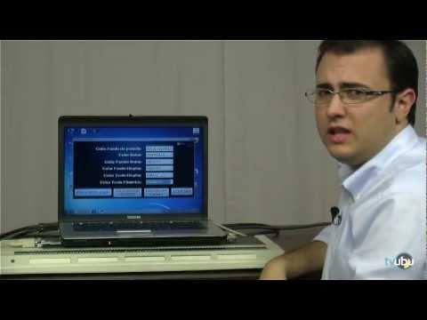"""Calculadora Científica Adaptada para PC """"Tiflocalc""""."""