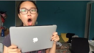 Macbook Air 13inch Unboxing 2016(hey guys super exciting video (for me at least) excuse the fact that i had no chill but tell me you wouldn't be the same before you ask questions please watch the ..., 2016-01-27T22:48:52.000Z)