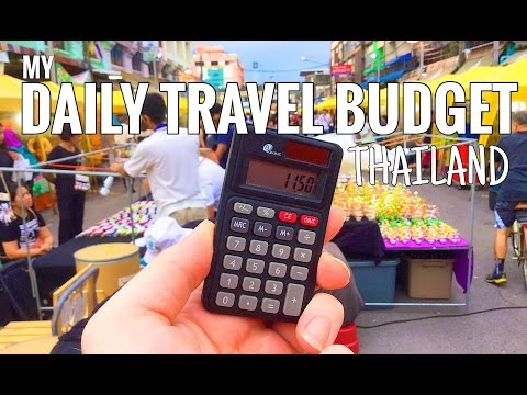 THAILAND TRAVEL: MY $11/£9 PER DAY BUDGET & COSTS