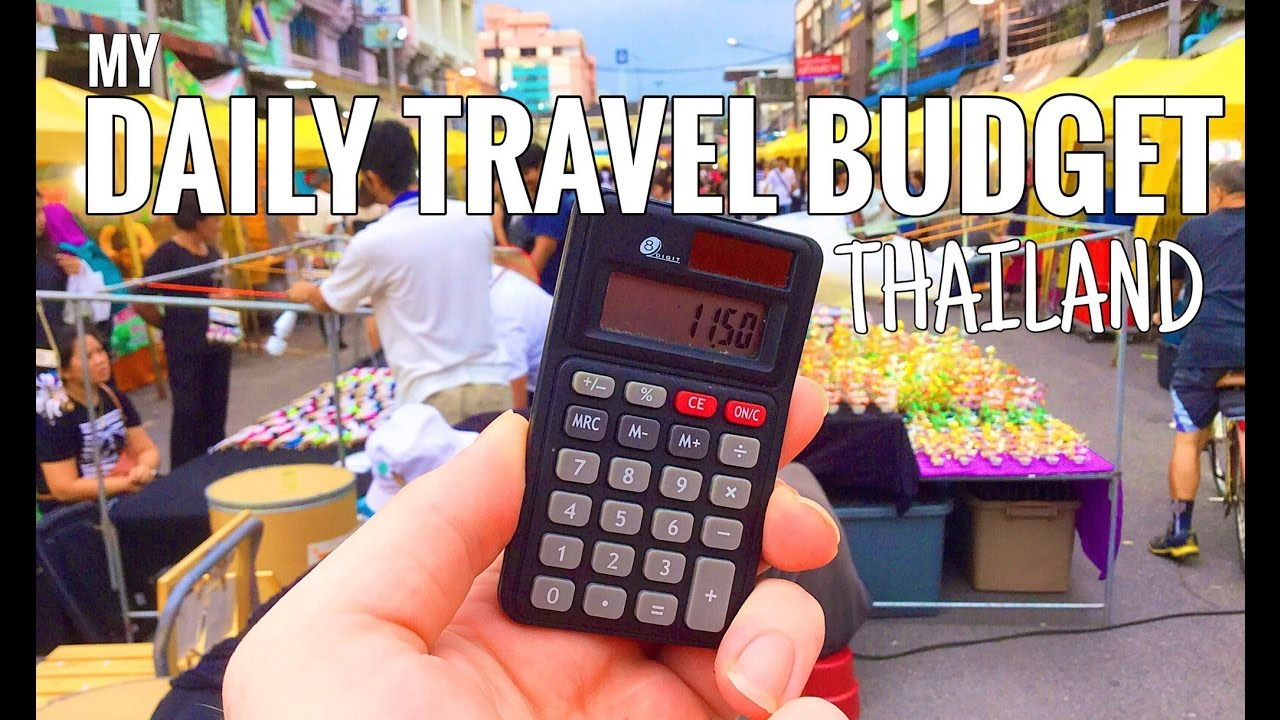 thailand travel living on 11 9 per day budget youtube