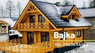 Dom drewniany całoroczny Bajka   Dom góralski z bali   Log house