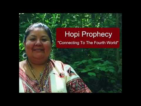 Hopi Prophecy Connecting To The Fourth World With De Alva Ward