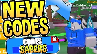 ⚔️ALL Saber Simulator CODES - FREE CROWN POINTS - Roblox Codes