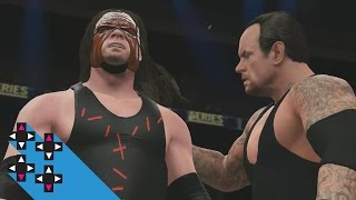 The Brothers of Destruction vs. The Wyatt Family — WWE 2K16 Survivor Series 2015 Match Sims