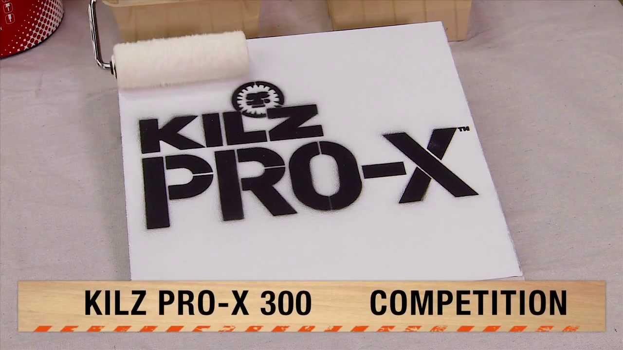 Kilz Pro X Paint For Pros The Home Depot Youtube
