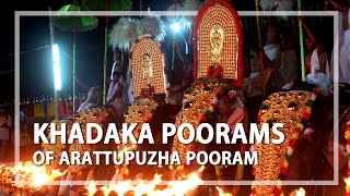 Khadaka Poorams - the pageantry of festivals of Arattupuzha Pooram