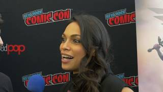 NYCC 2019 Wonder Woman: Bloodlines Cast Interviews