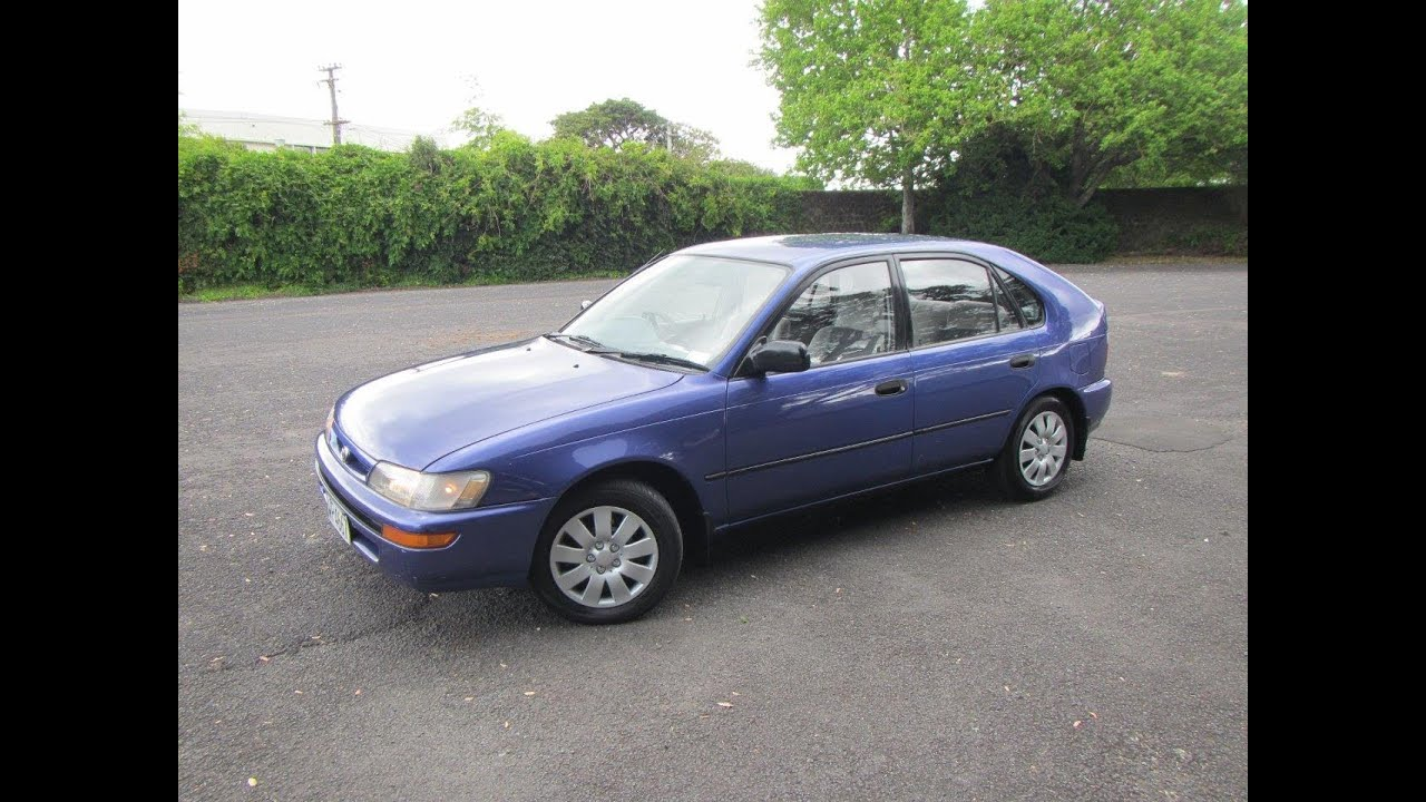 1997 Toyota Corolla GL Hatch NZ New $1 RESERVE