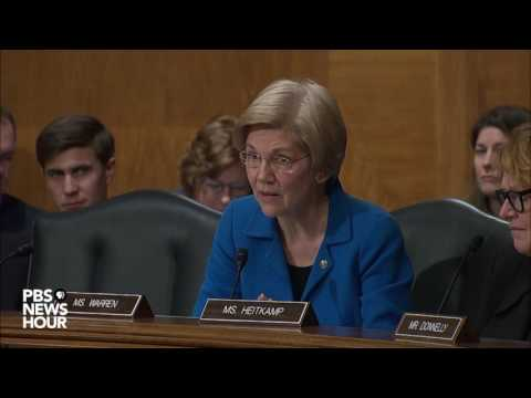 Sen. Elizabeth Warren presses Ben Carson on HUD benefits and the Trump Family