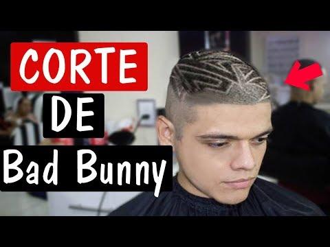 ME HAGO EL CORTE DE Bad Bunny   RAPADO EXTREMO!   Termina mal