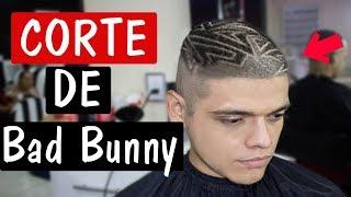 ME HAGO EL CORTE DE Bad Bunny | RAPADO EXTREMO! | Termina Mal