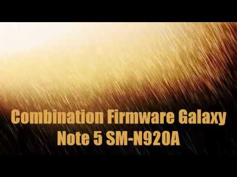 Combination Firmware Galaxy Note 5 SM-N920A