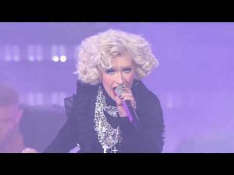 Christina Aguilera - Not myself tonight Live