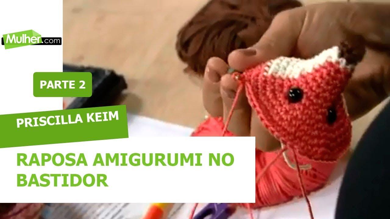 Como Fazer Raposa de Amigurumi com Claudia Stolf - YouTube | 720x1280