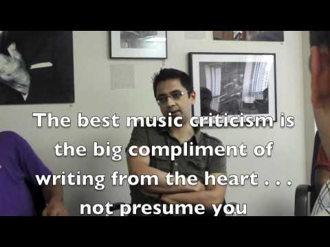 Vijay Iyer on Music Criticism