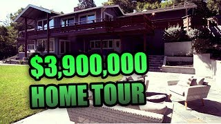 TOURING A $3.9 MILLION DOLLAR HOUSE IN SILICON VALLEY | REAL ESTATE VLOG