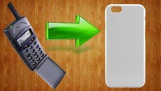 Как сделать силиконовый чехол/бампер для телефона своими руками/DIY silicone cell phone bumper case(, 2016-01-26T16:08:39.000Z)