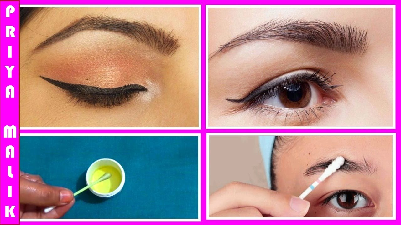 How to Get Thick Eyebrows Fast Naturally || Home Remedy ...