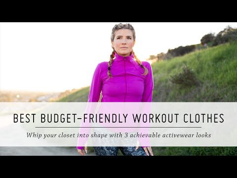 Best Budget-Friendly Workout Clothes | Activewear Favorites, 3 Ways | Fitness and Style | Mr Kate