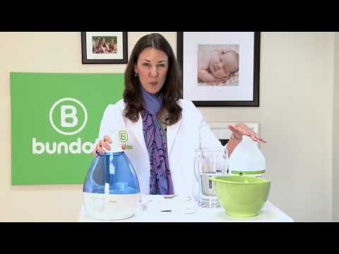 Using and Cleaning Your Infant's Cool Mist Humidifier