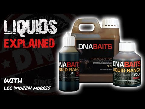 ***CARP FISHING*** DNA LIQUIDS EXPLAINED WITH LEE MORRIS - DNA BAITS