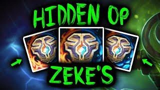 SirhcEz - ZEKE'S SINGED HIDDEN OP BUILD! NEVER GIVE UP
