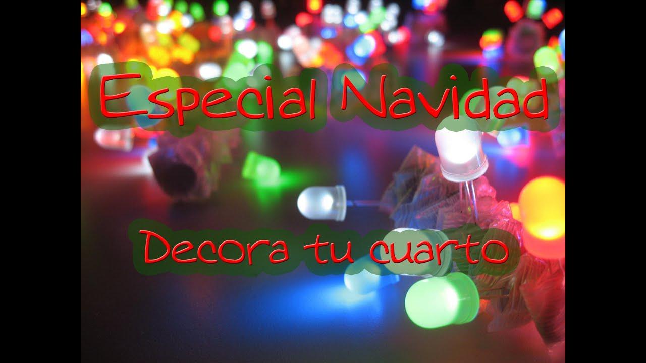 Especial navidad 2012 decora tu cuarto youtube for Decora tu habitacion online