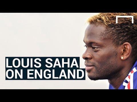 Louis Saha hopes England win the World Cup
