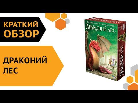 Драконий лес ─ краткий обзор настольной игры 🐲🌳